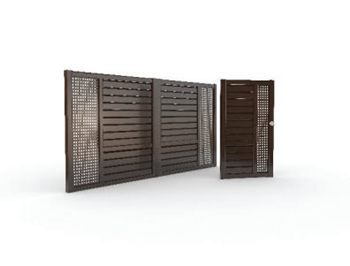 Colectia Compact Magneto - Porti si garduri din aluminiu DAVOS Europe