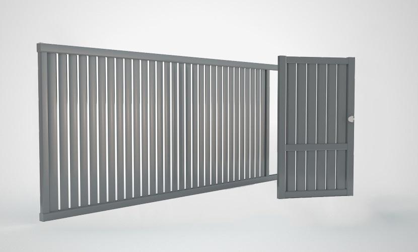 porti si garduri aluminiu